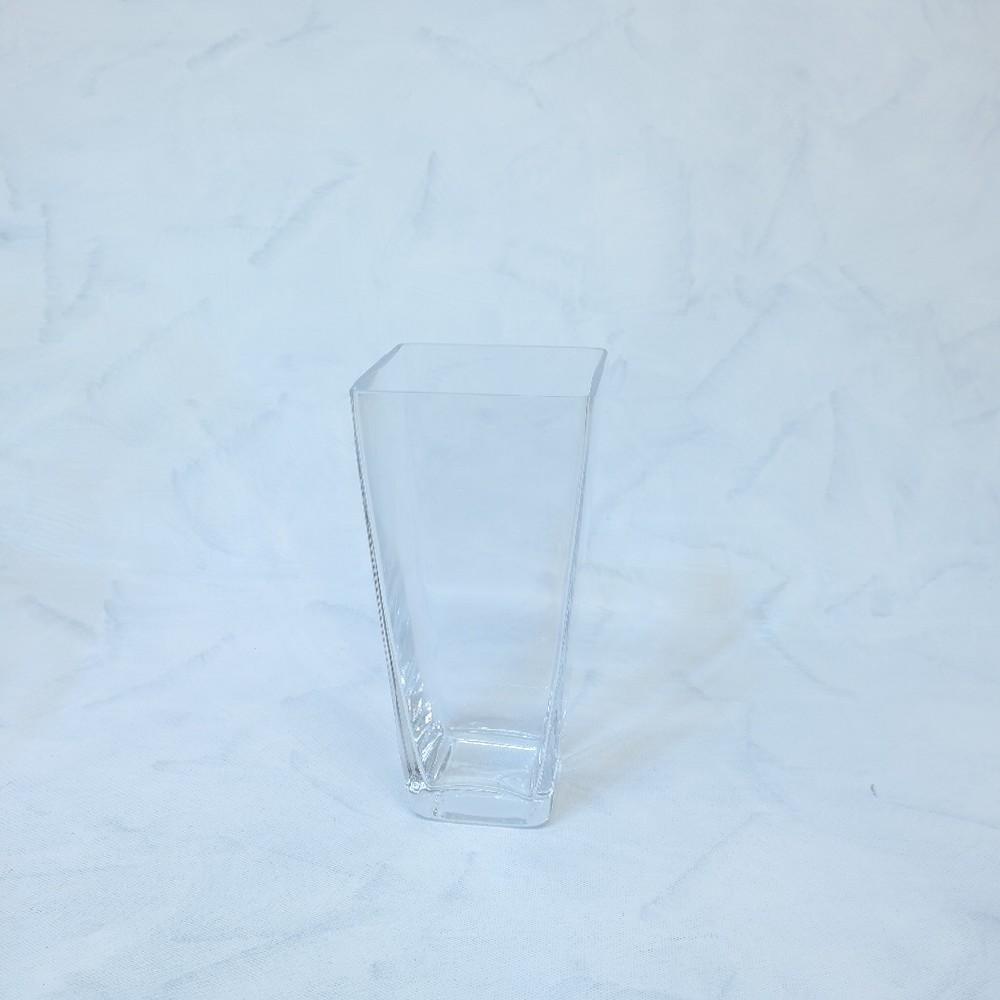 váza sklo deco24x12cm