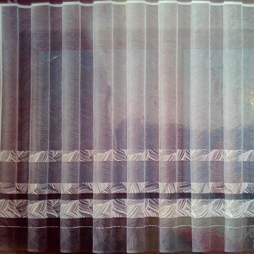 záclona hotová 160x400