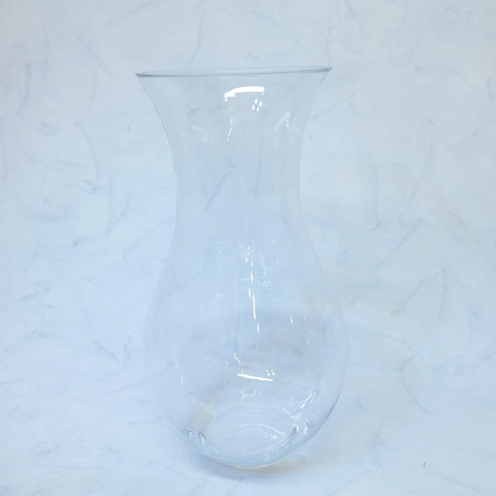 váza sklo/deco23x51cm