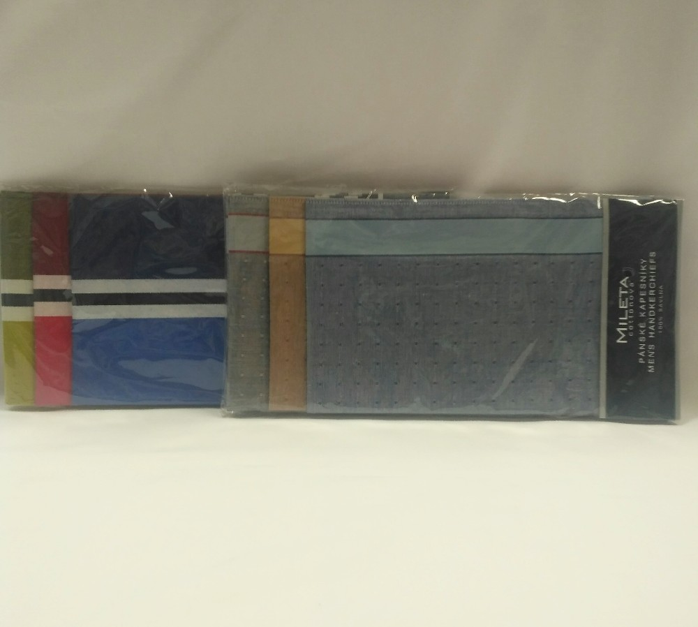 kapesníky pánské 6 ks