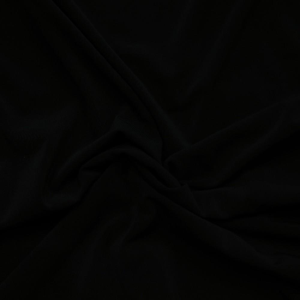 úplet Jersey uni černý
