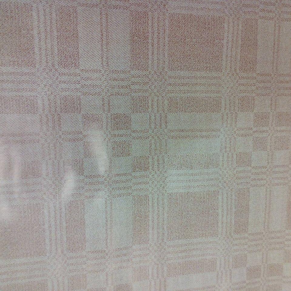 PVC ubrus hnědé kostky