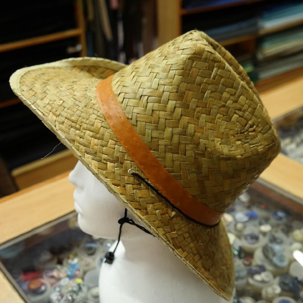 klobouk pánský slaměnný
