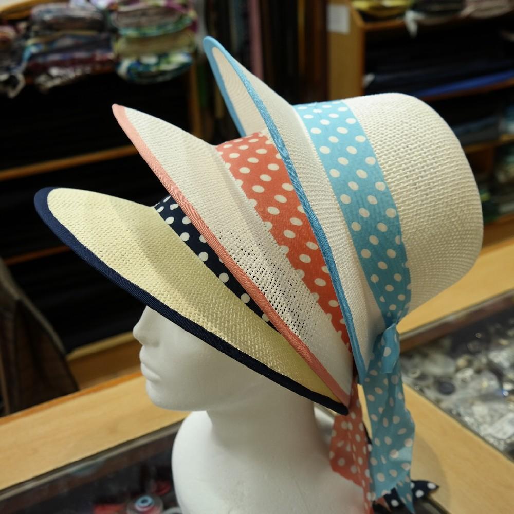 klobouk dámský letní,papírový