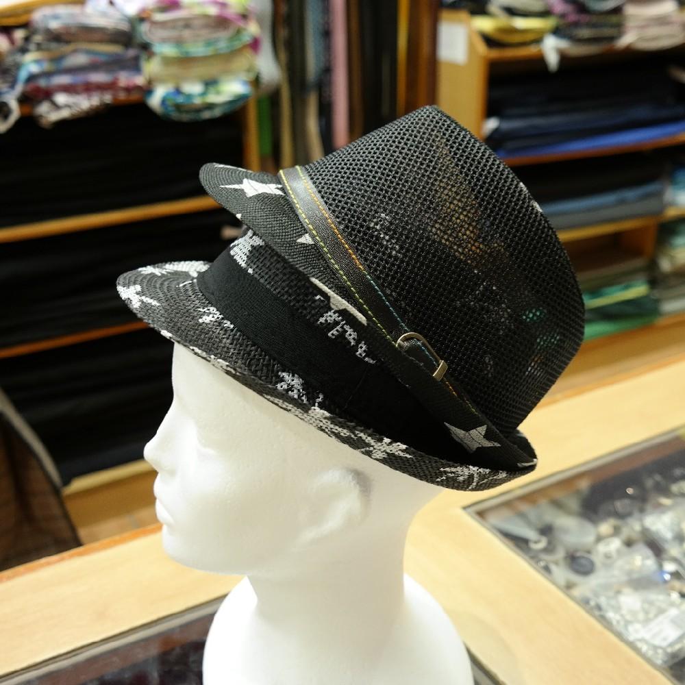 klobouk pánský letní,černý