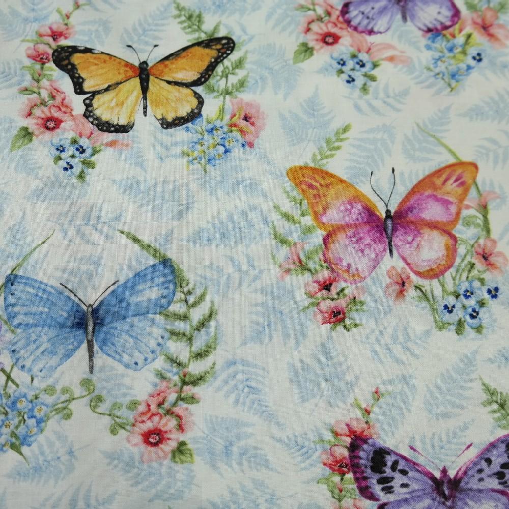 bavlna smet.motýli