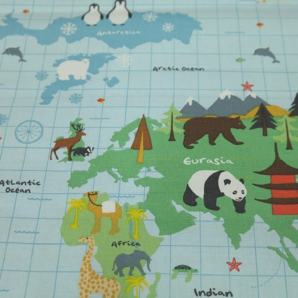 bavlna světadíly