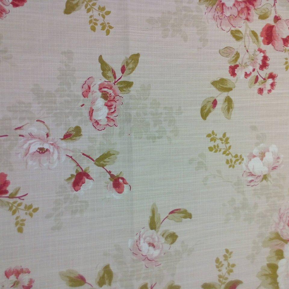 Bavlna dekorační béžová růže