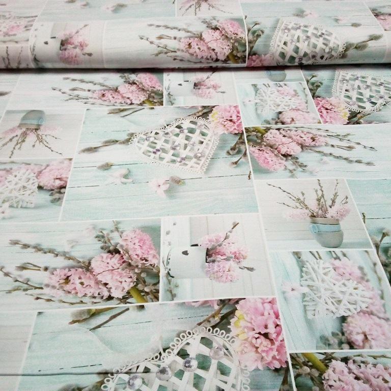 bavlna patchwork Provence