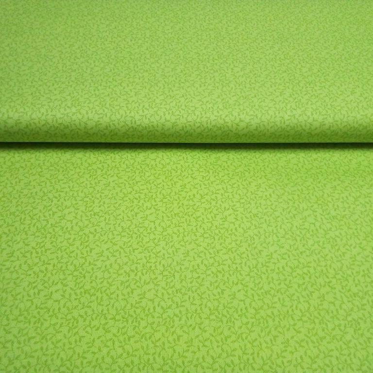 bavlna zelená  šlahouny