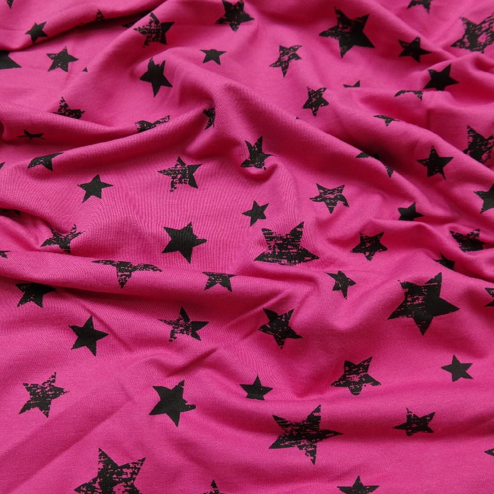 úplet růžový hvězdy