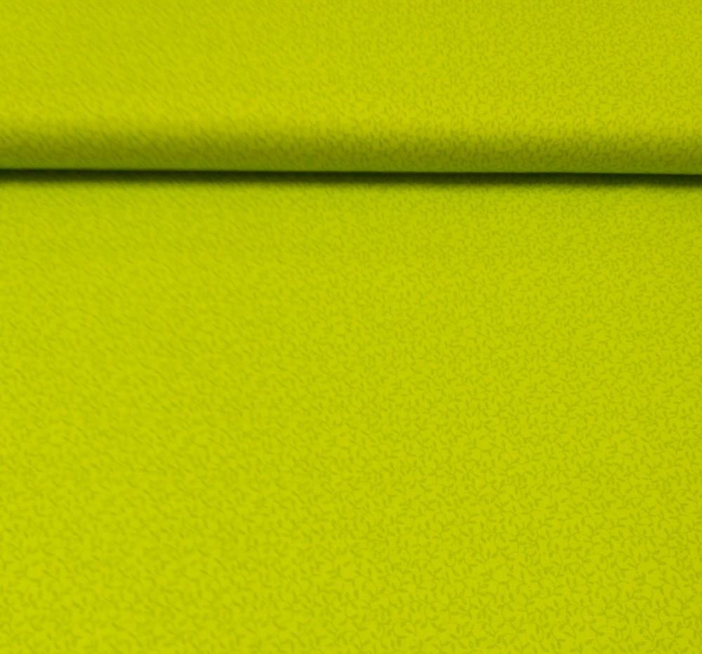 bavlna zelené lístky
