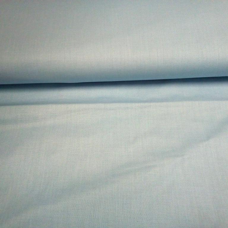 bavlna  sv.modrá š.140