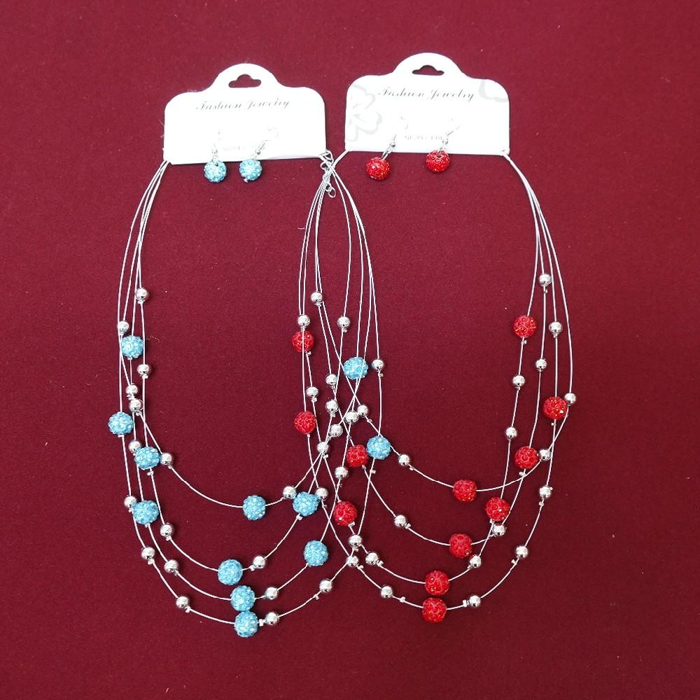 náhrdelník+náušnice
