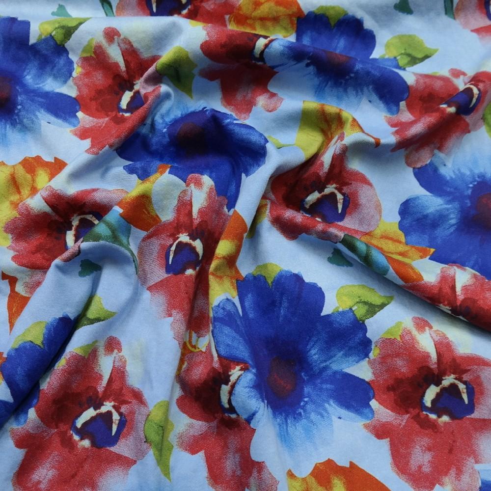 bavlna elast. m/čv/m květ
