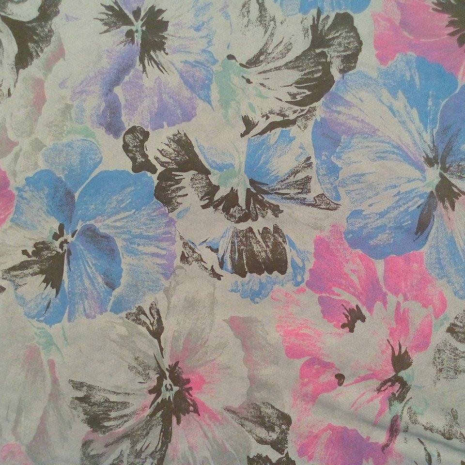 Bavl. elasten mod./fial. květy