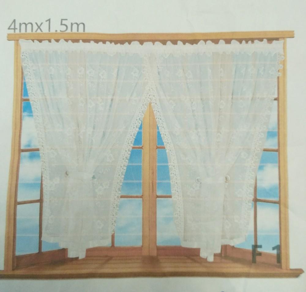 záclona hotová 1,5x4 m