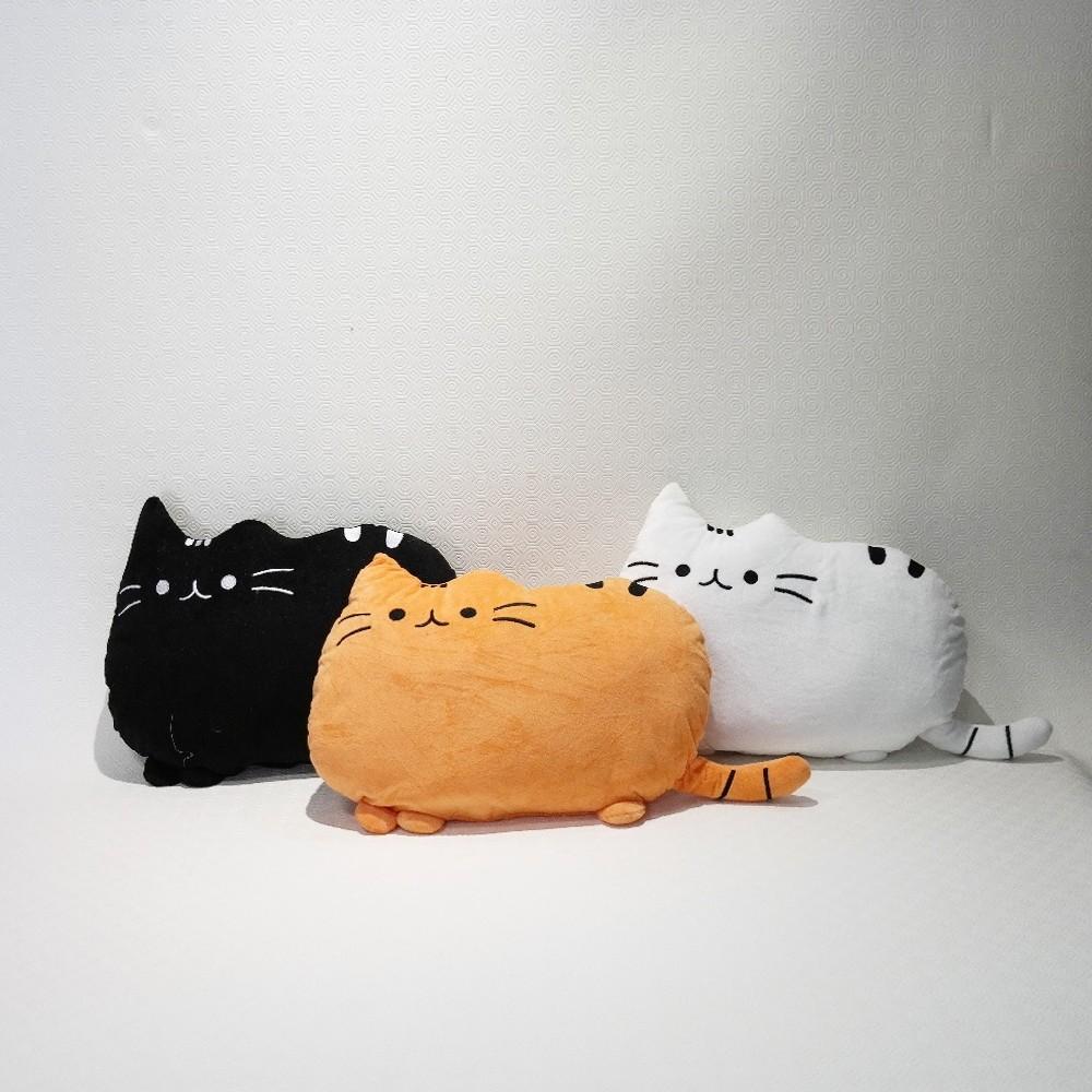 plyšák kočka větší
