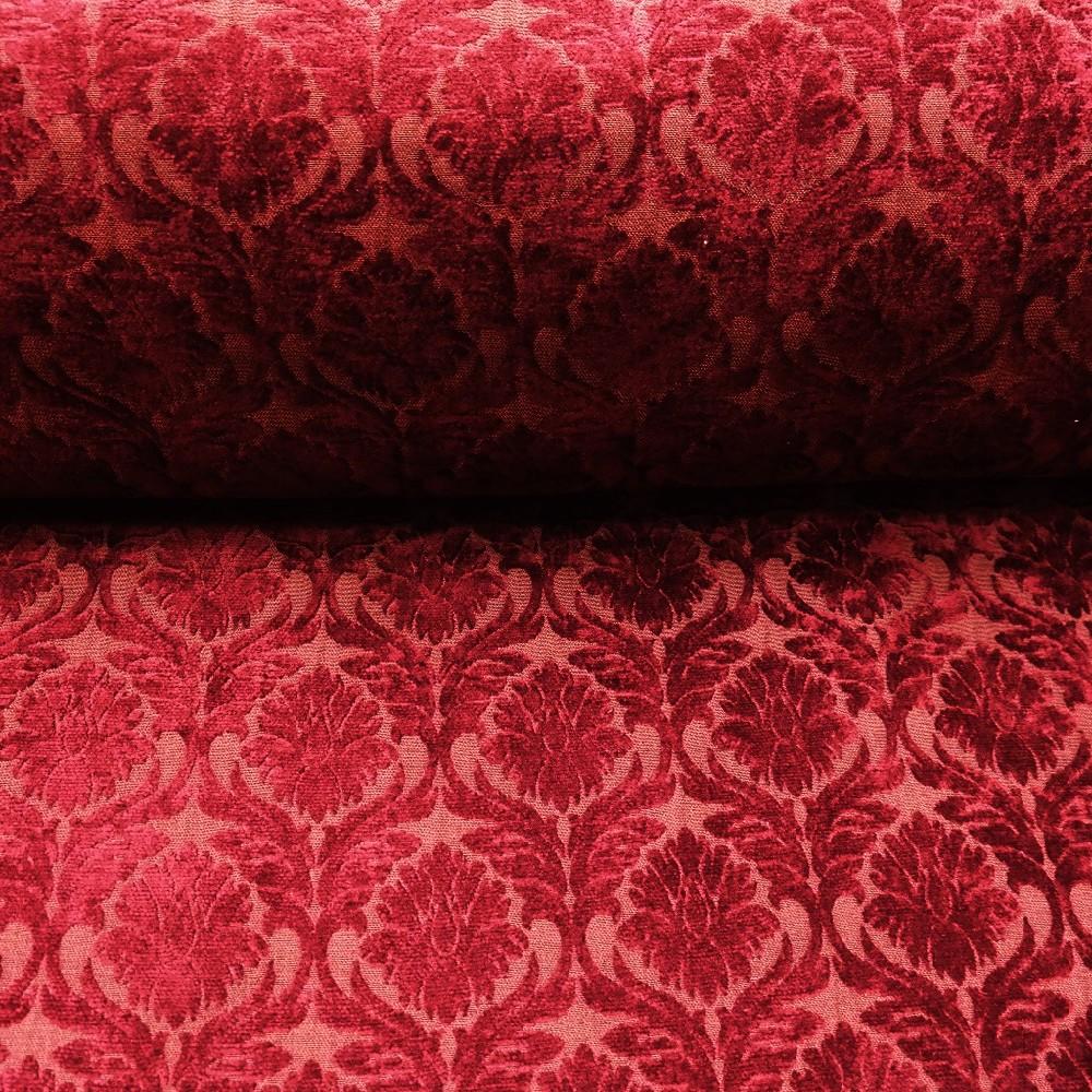 potahovka vínová žin tapetový  vzor