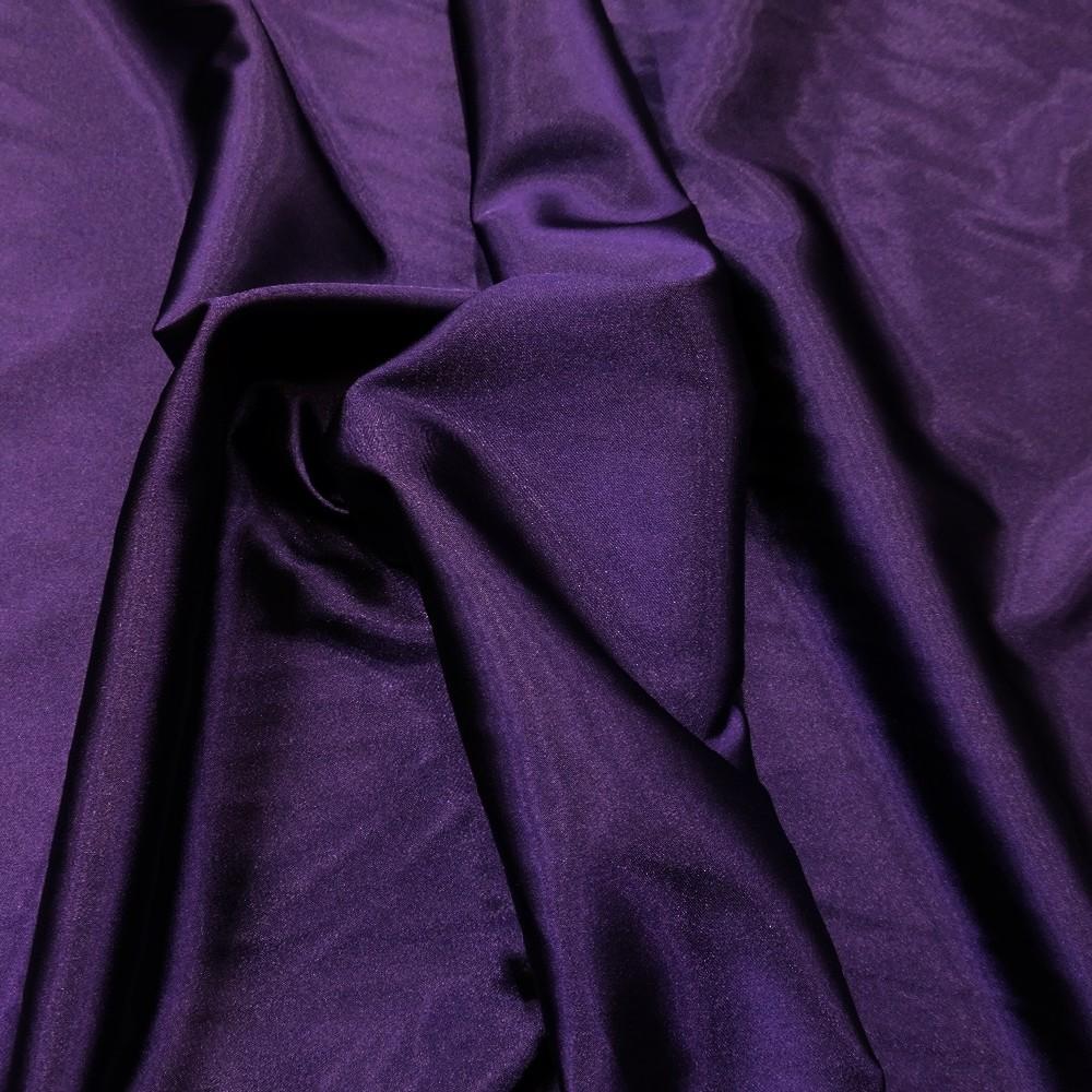 satén tm.fialový neelastický