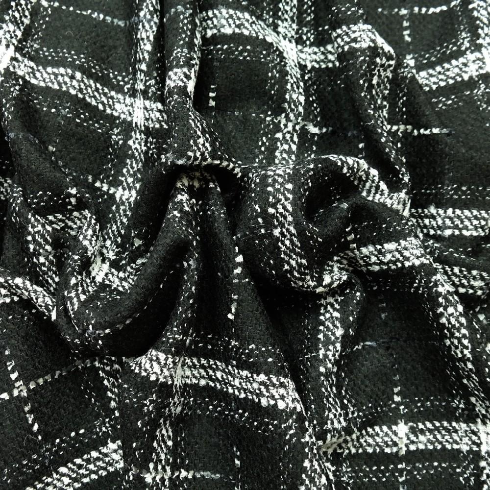 zimní černo/b kostka acryl