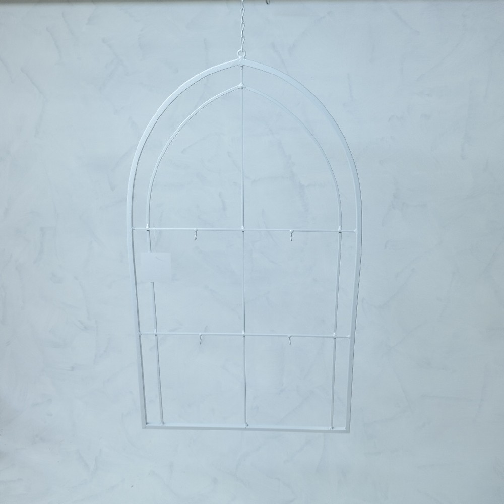 rám s háčky na dekorace  závěsný 35x61 cm