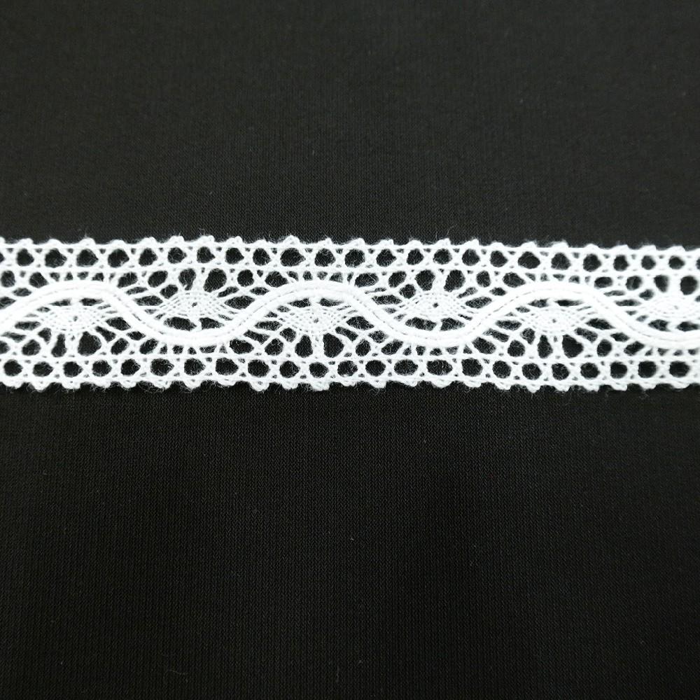 krajka Ba,bílá 25mm