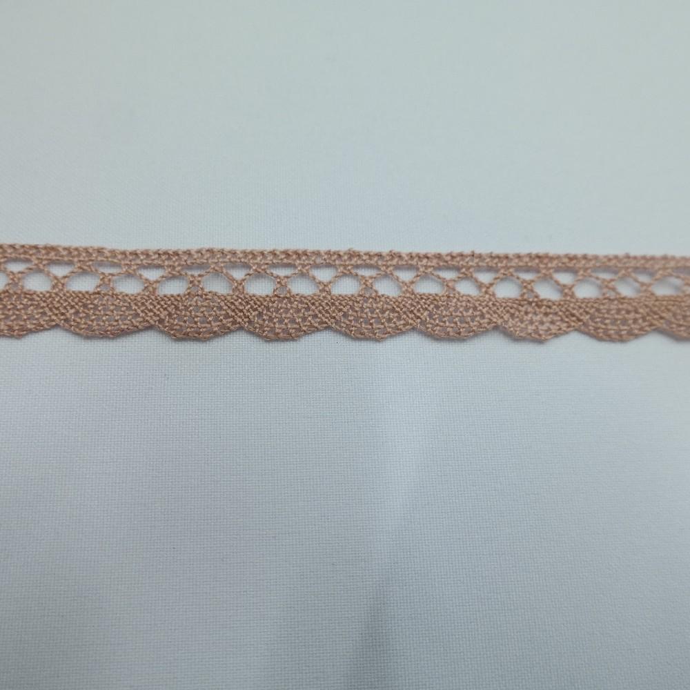 krajka Ba,starorůžová15mm