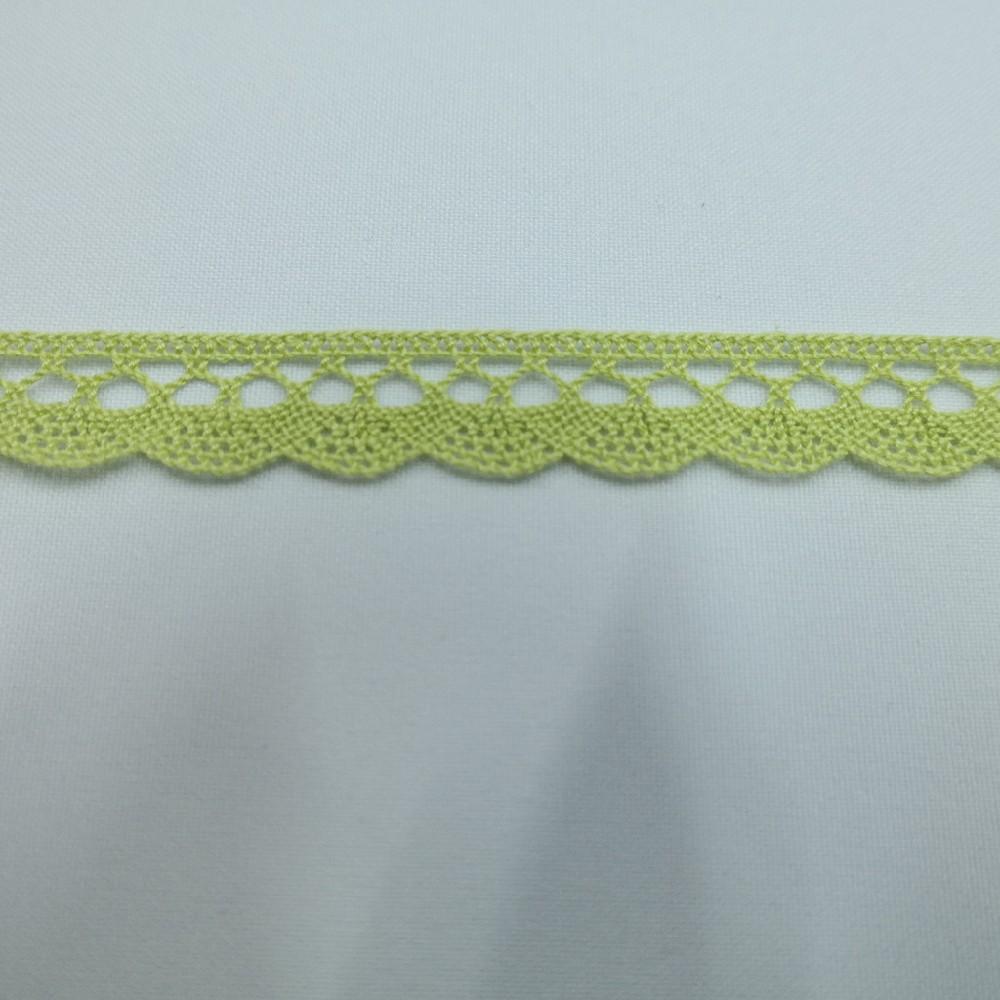 krajka Ba,zelená 15mm