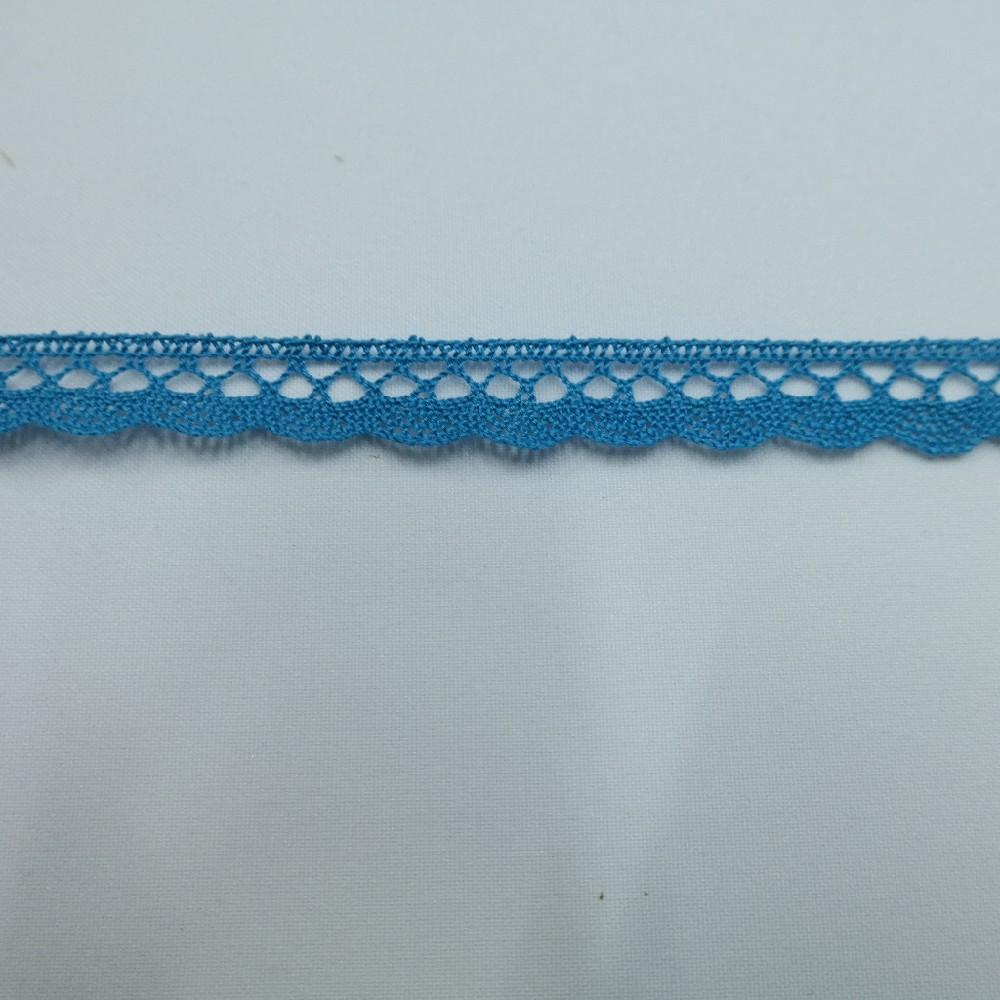 krajka Ba,modrá 15mm