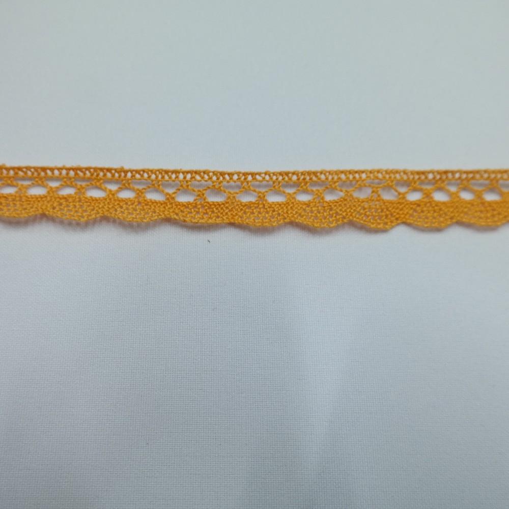 krajka Ba,oranžová 15mm