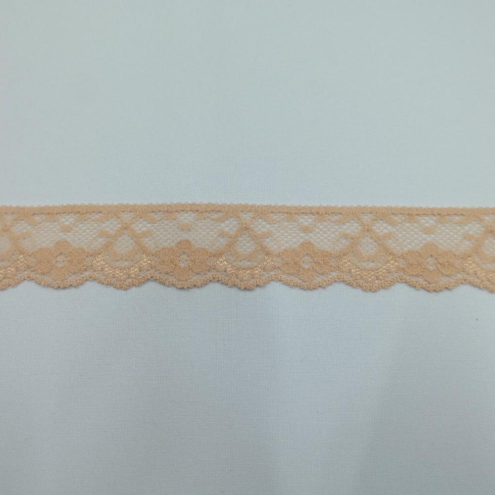 krajka elastická růžová 35mm