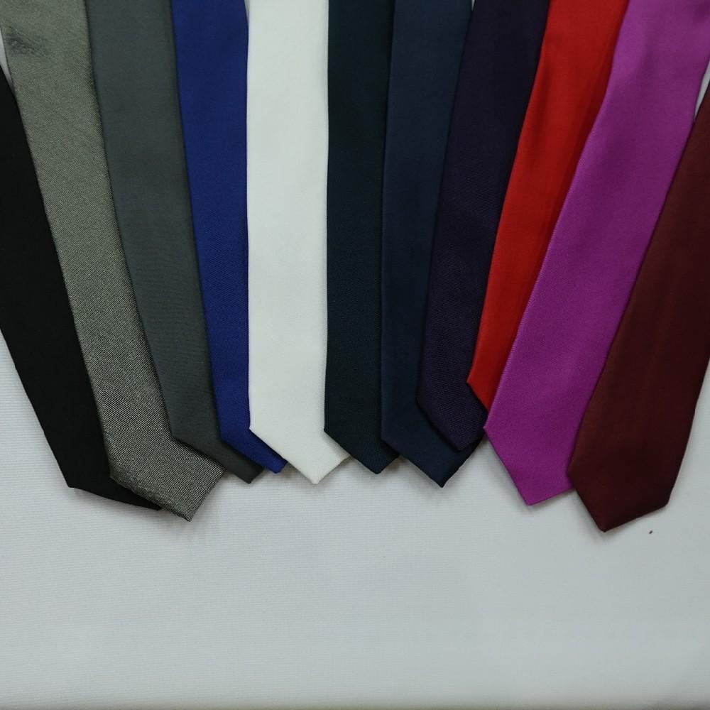 kravata jednobarevná