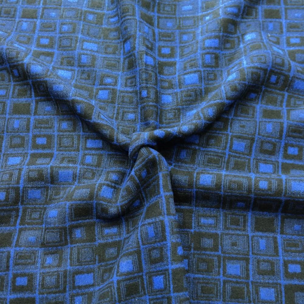 kabátovina modročerná
