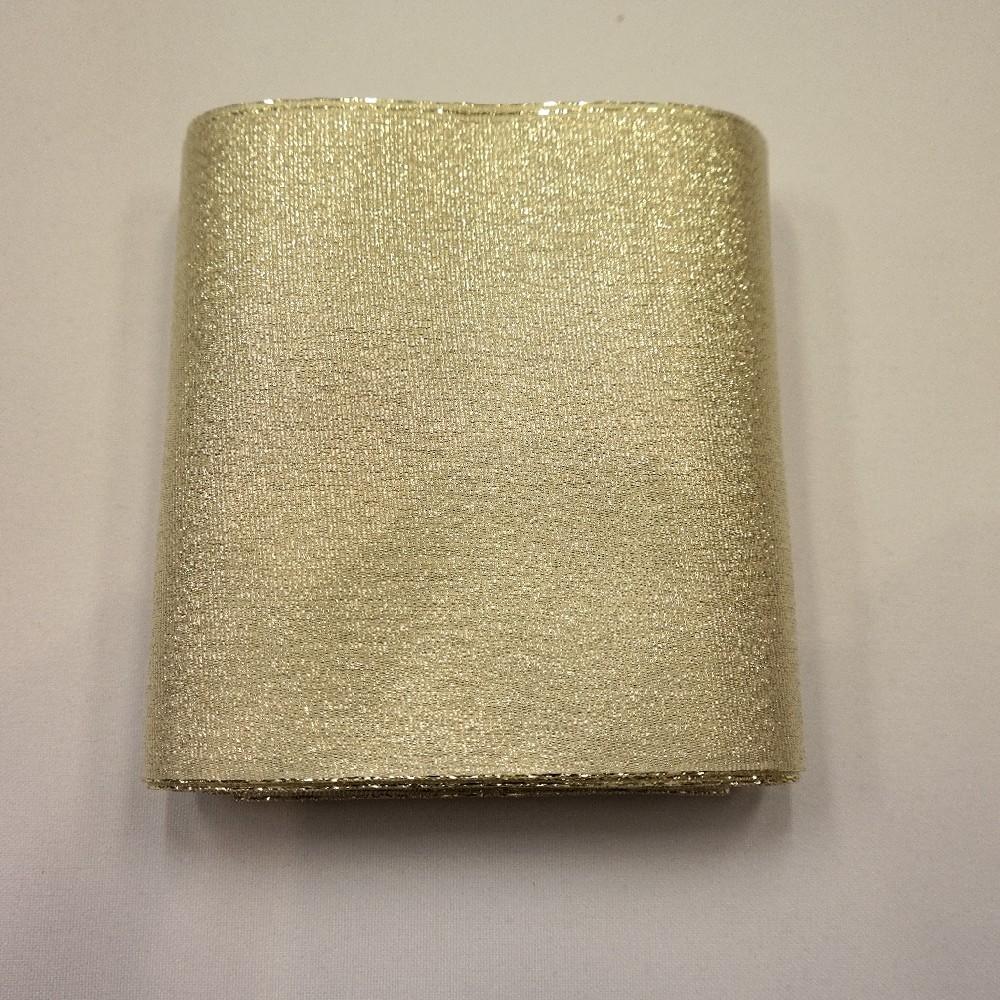 stuha lesklá zlatá 110mm