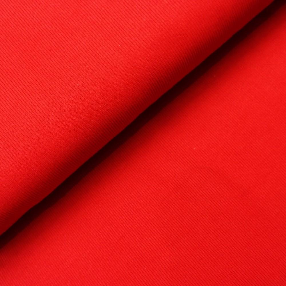 náplet žebro červená