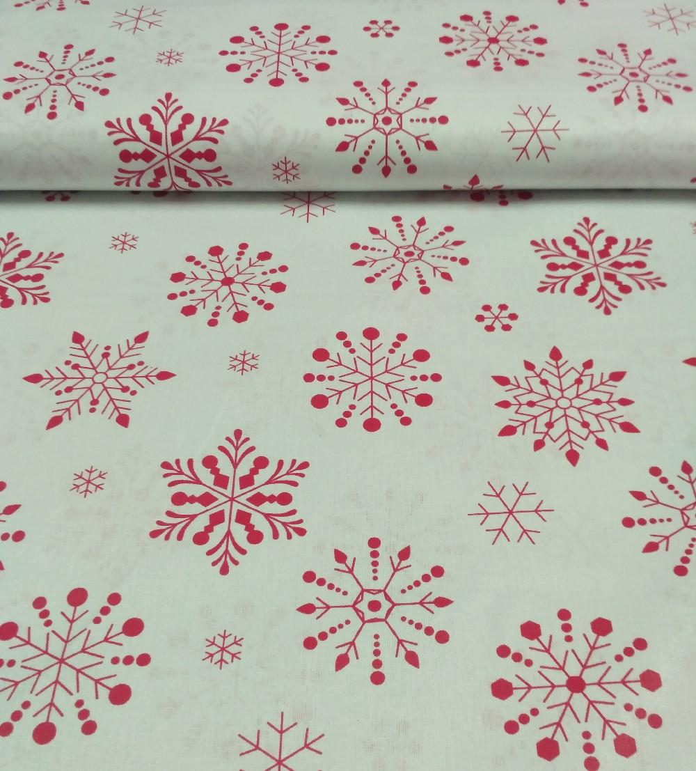 bavlna vánoční hvězdy
