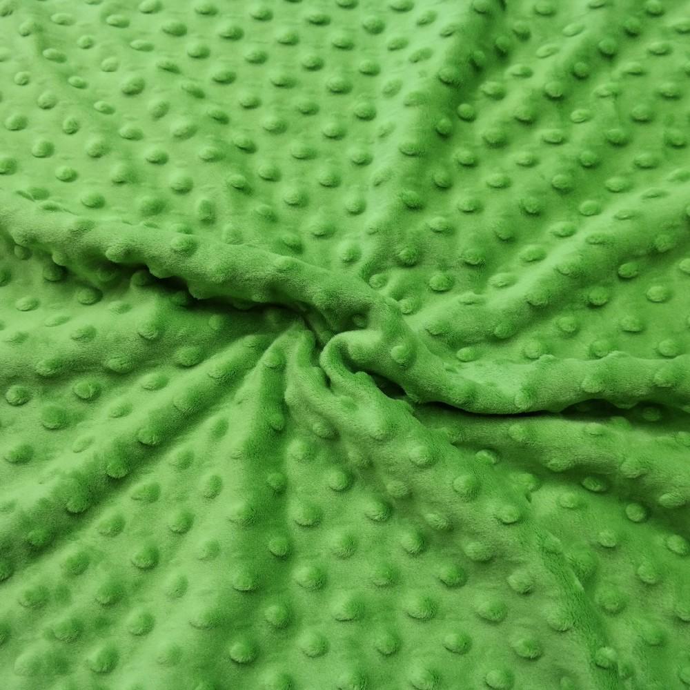 minky zelené