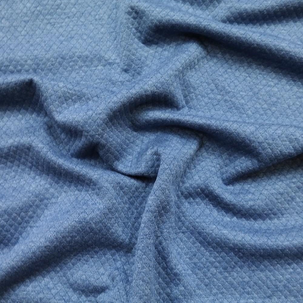 úplet vafle modrý