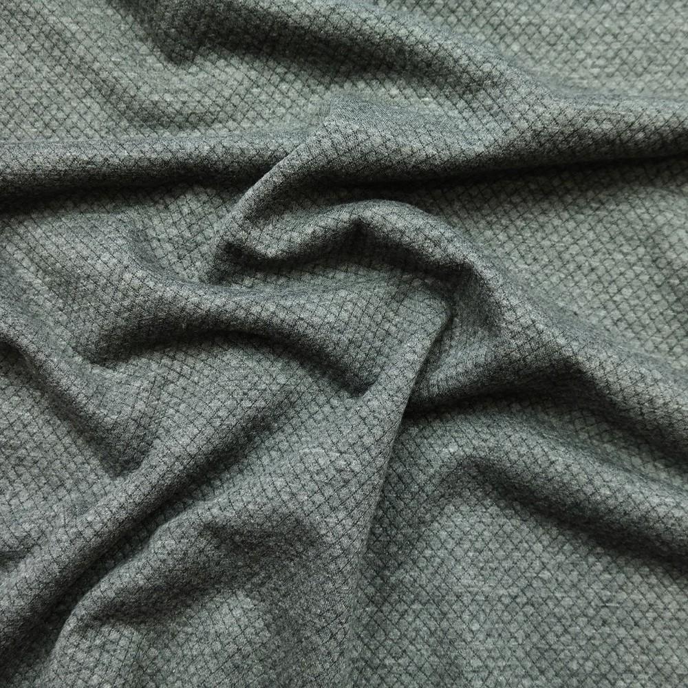 úplet vafle šedý