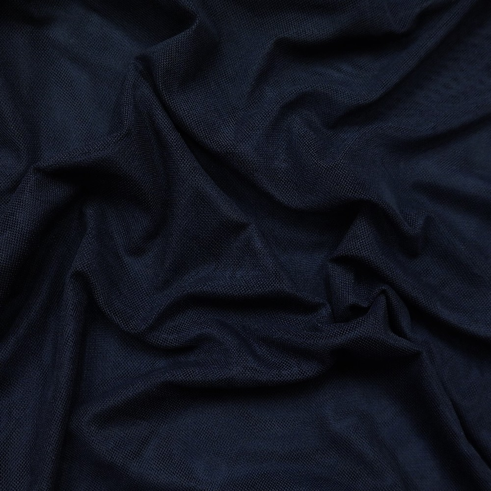 tyl oboustr./elast./tm./modrý