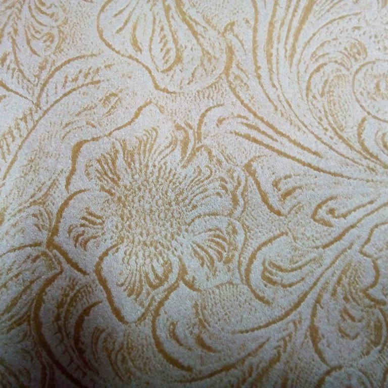dekoračka zlato béžový zámecký vzor 150 cm