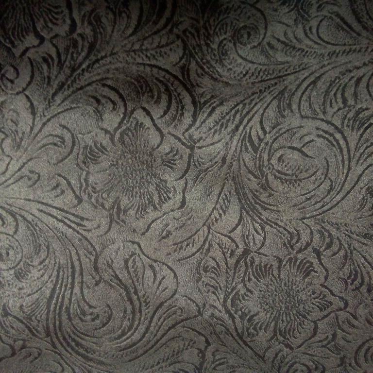 dekoračka šedo zámecký vzor 150 cm