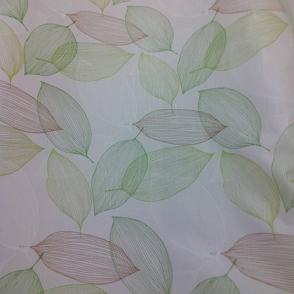 PVC ubrus zel.hnědé listy