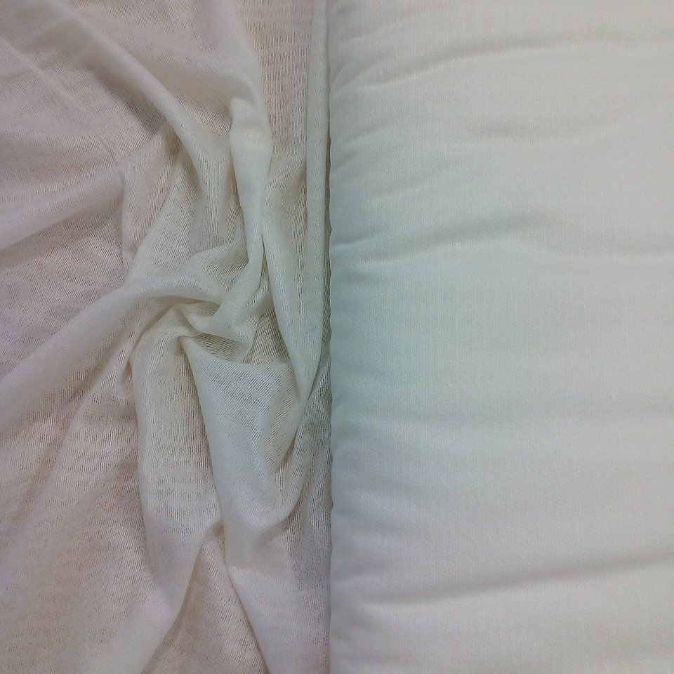 rašlovka bílá š.150cm