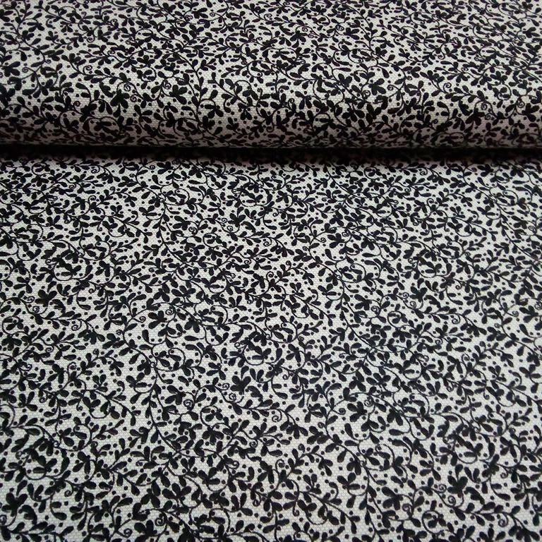 bavlna tisk šlahouny