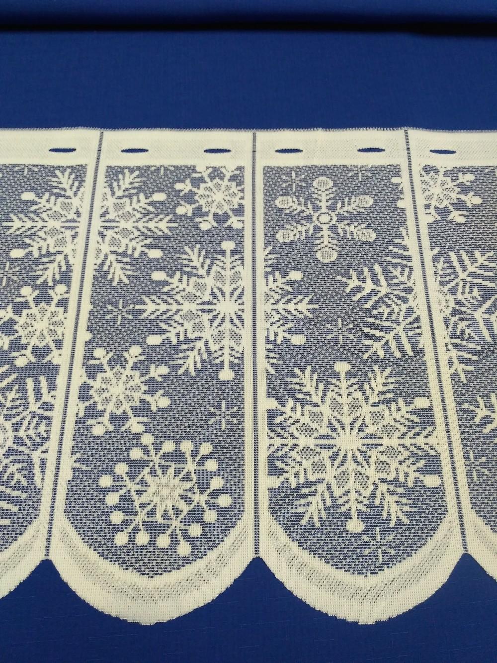 vitrážka sněhová vločka 60 cm