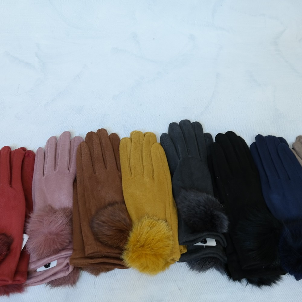 rukavice chlup