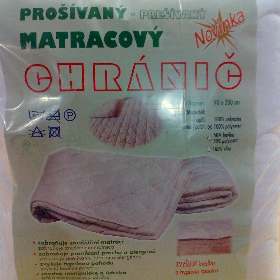 matracový chránič 90x200