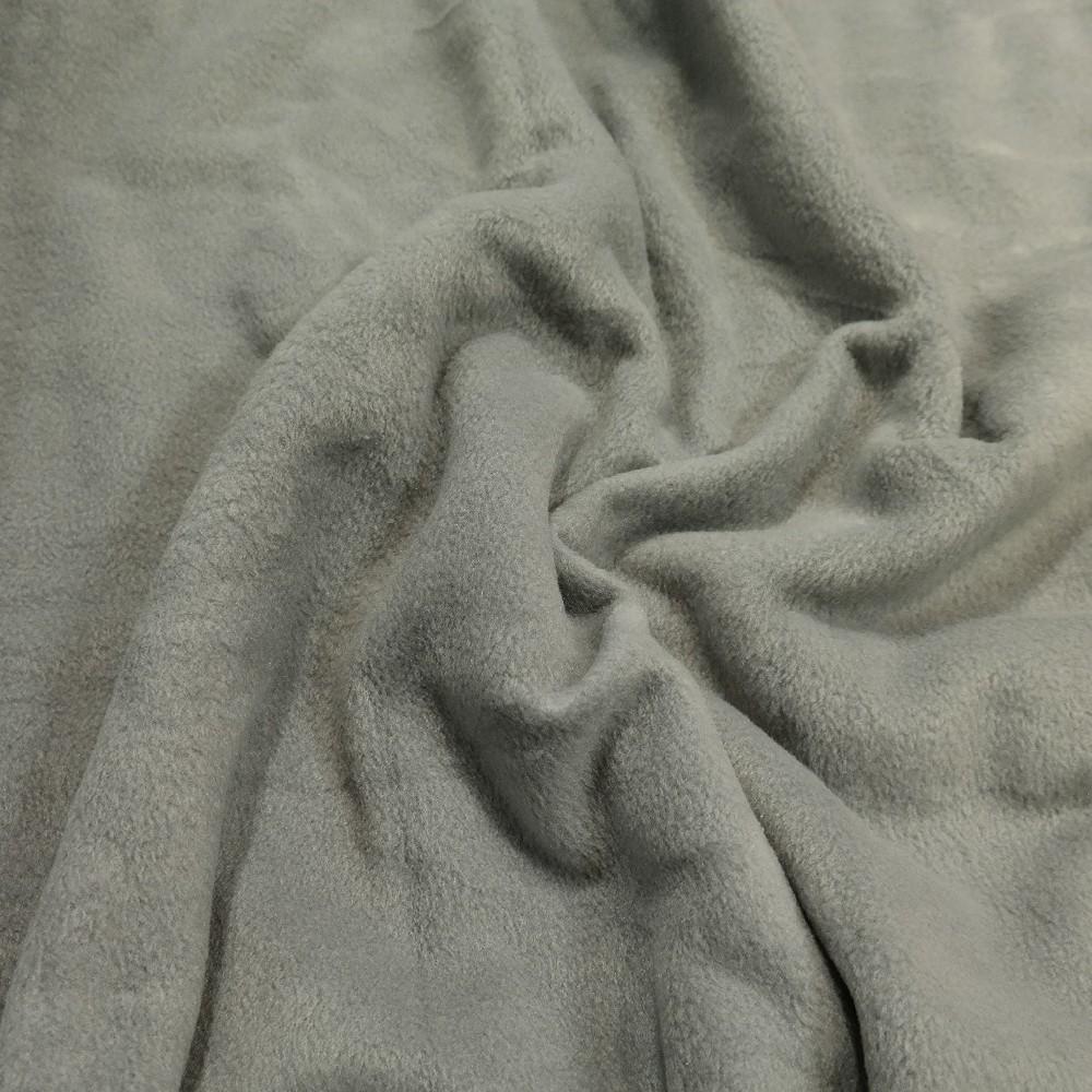 fleece šedý